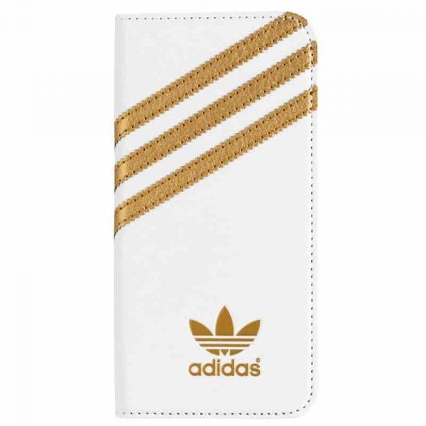 funda flip cover iphone 6 6s licencia adidas blanco3