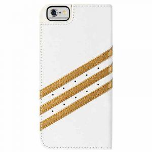 funda flip cover iphone 6 6s licencia adidas blanco4