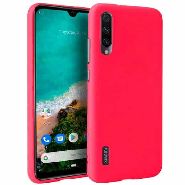 Funda Silicona Xiaomi Mi A3 (Rojo) 1