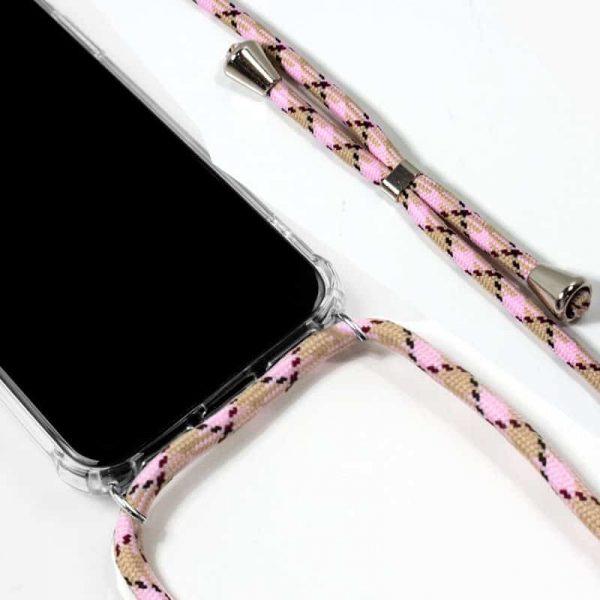 Carcasa iPhone 11 Cordón Rosa 2
