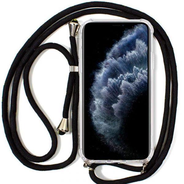 Carcasa iPhone 11 Pro Cordón Negro 1