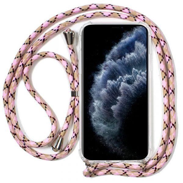 Carcasa iPhone 11 Pro Cordón Rosa 1