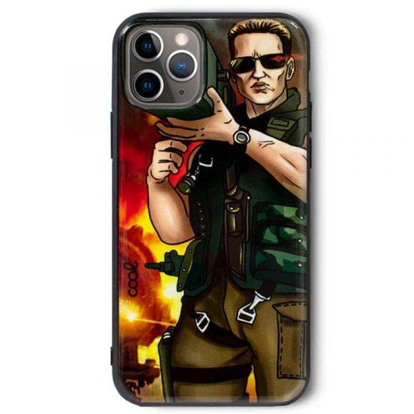 Carcasa iPhone 11 Pro Dibujos Bazoka 2