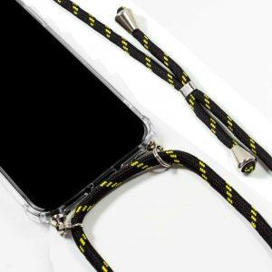 carcasa iphone 11 pro max cordon negro amarillo2