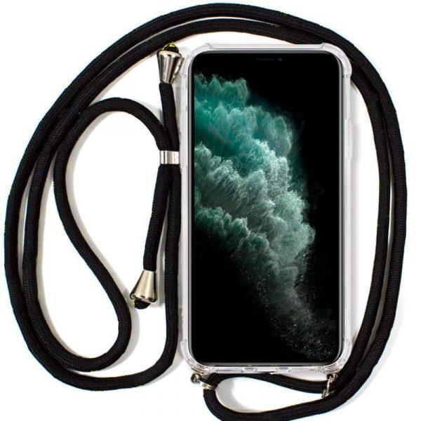 Carcasa iPhone 11 Pro Max Cordón Negro 1