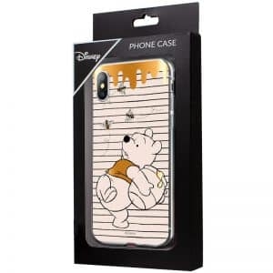 Carcasa iPhone X / iPhone XS Licencia Disney Winnie The Pooh 3