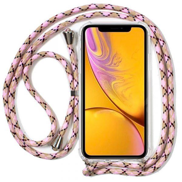 Carcasa iPhone XR Cordón Rosa 1