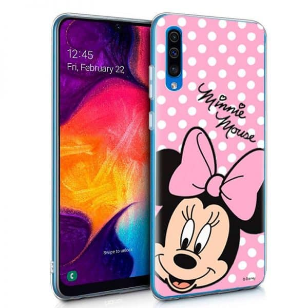 Carcasa Samsung Galaxy A50 / A30s Licencia Disney Minnie 1