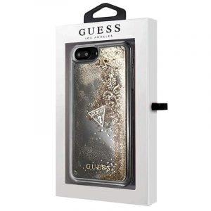 Carcasa iPhone 7 Plus / 8 Plus Licencia Guess Liquid Dorado 4