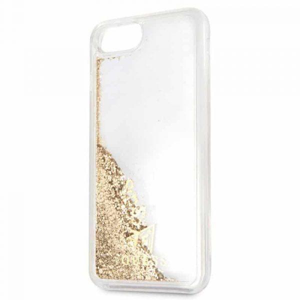 Carcasa iPhone 7 Plus / 8 Plus Licencia Guess Liquid Dorado 3