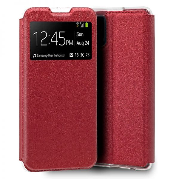 funda flip cover samsung galaxy s20 liso rojo 1