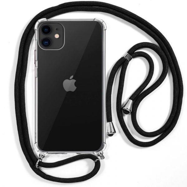 carcasa iphone 11 cordon negro 1
