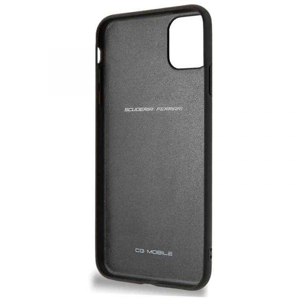 carcasa iphone 11 pro max licencia ferrari negro 3