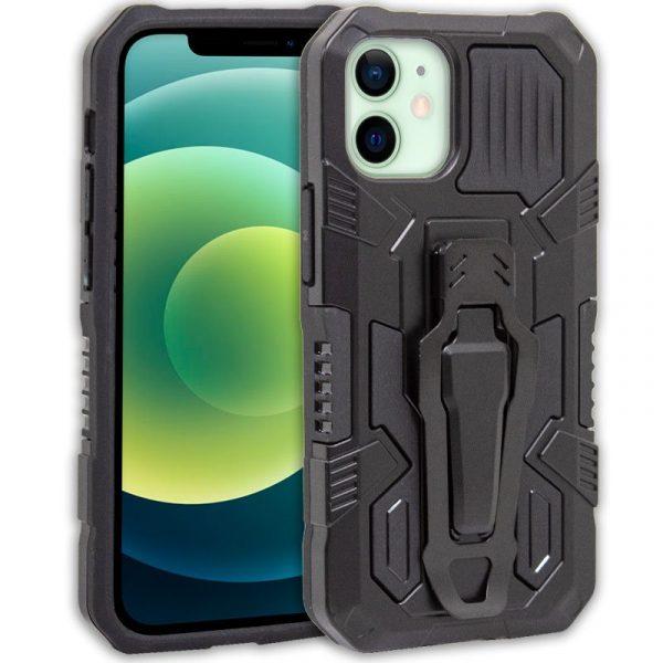 carcasa iphone 12 12 pro hard clip negro 1