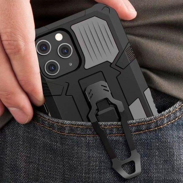 carcasa iphone 12 12 pro hard clip negro 2