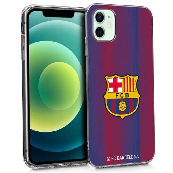 carcasa iphone 12 12 pro licencia futbol fc barcelona 1