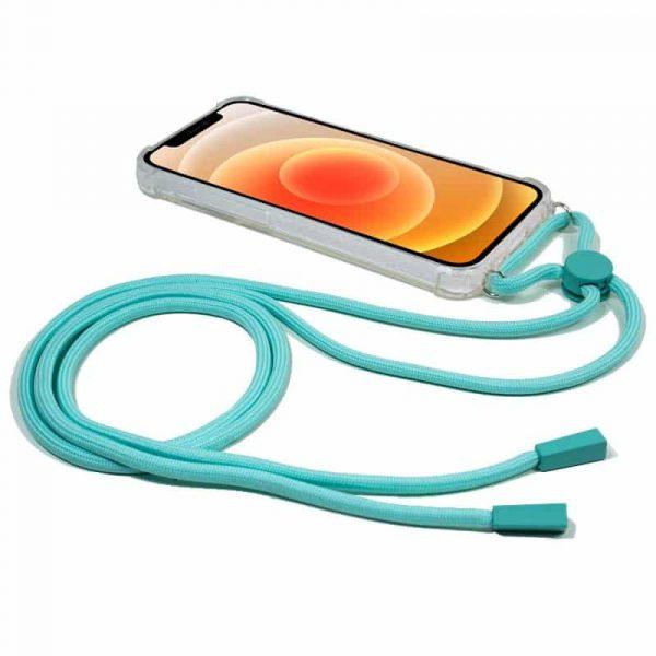carcasa iphone 12 mini cordon celeste 2