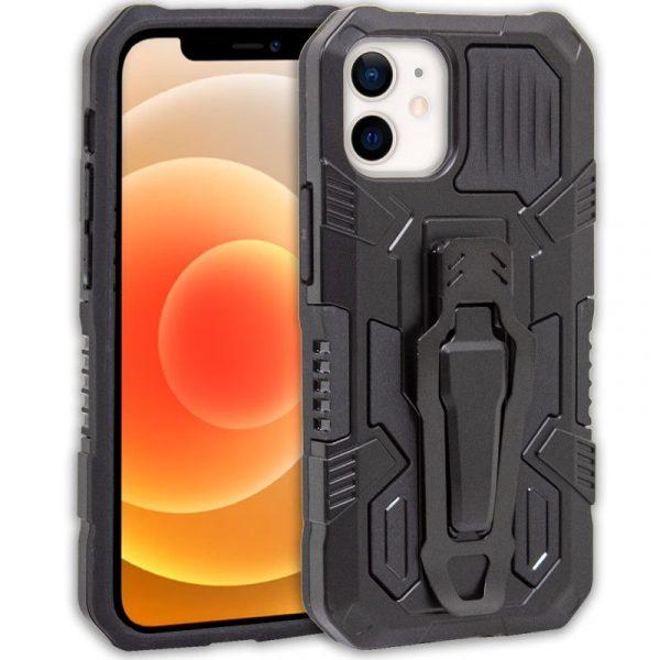 carcasa iphone 12 mini hard clip negro 1