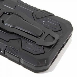 carcasa iphone 12 mini hard clip negro 4