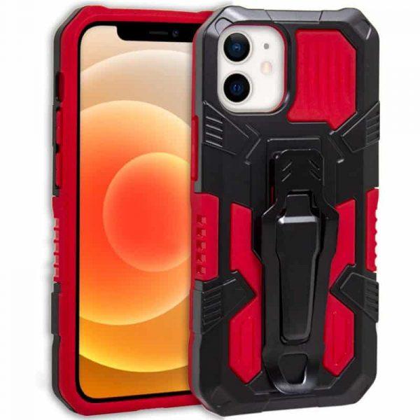 carcasa iphone 12 mini hard clip rojo 1