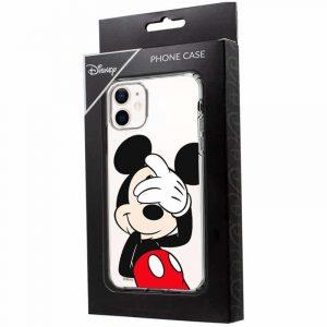 carcasa iphone 12 mini licencia disney mickey transparente 2
