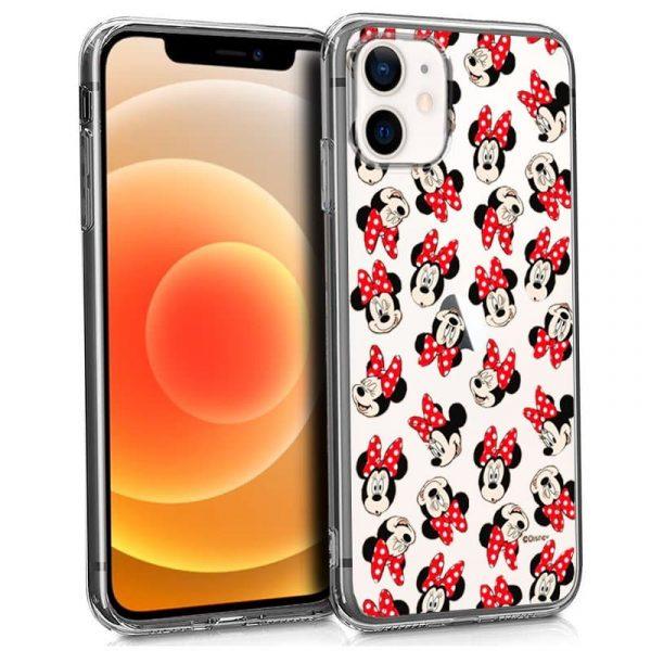 carcasa iphone 12 mini licencia disney minnie 1