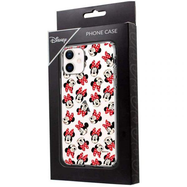 carcasa iphone 12 mini licencia disney minnie 2