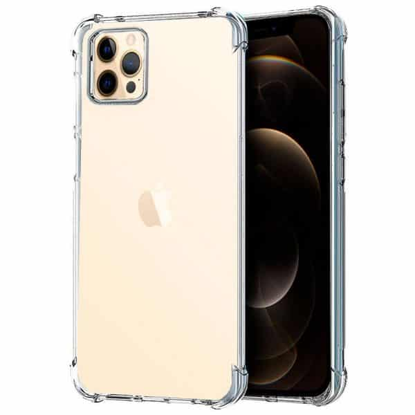 carcasa iphone 12 pro max antishock transparente 1