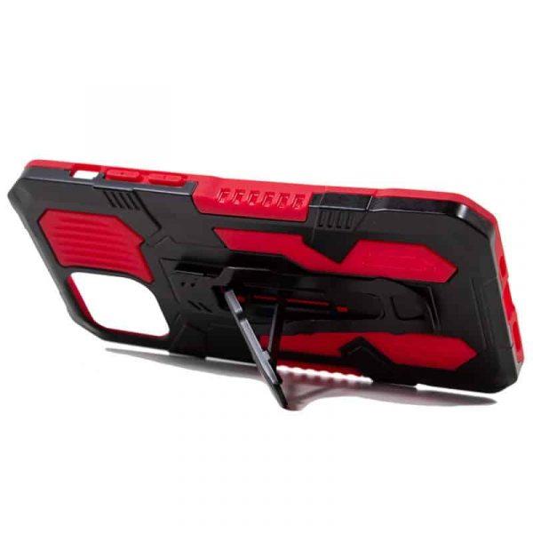 carcasa iphone 12 pro max hard clip rojo 3