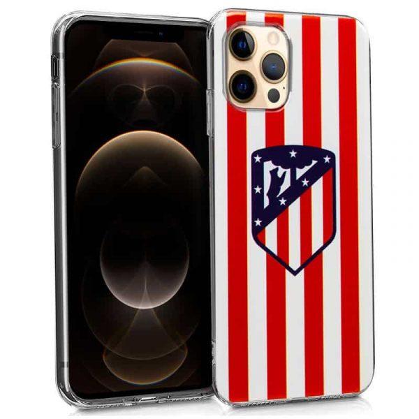 carcasa iphone 12 pro max licencia futbol atletico de madrid 1