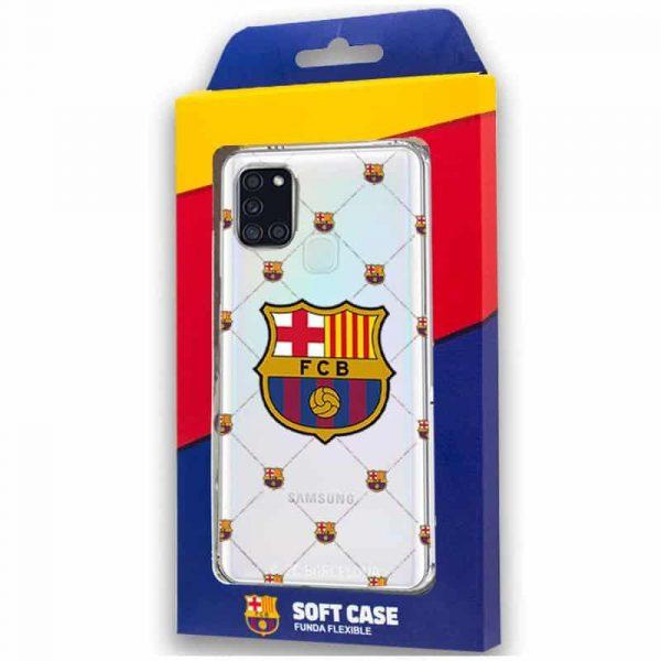 carcasa samsung galaxy a21s licencia futbol fc barcelona 2