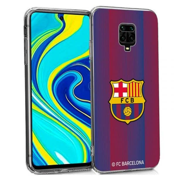carcasa xiaomi redmi note 9s note 9 pro licencia futbol fc barcelona 1
