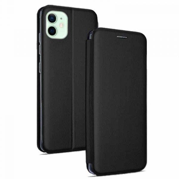 funda flip cover iphone 12 12 pro elegance negro 1
