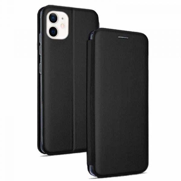 funda flip cover iphone 12 mini elegance negro 1