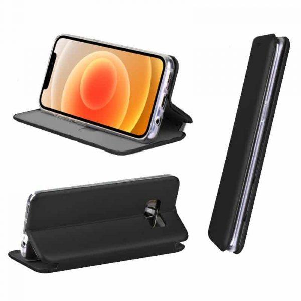 funda flip cover iphone 12 mini elegance negro 2