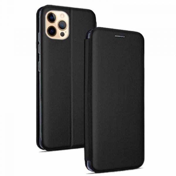 funda flip cover iphone 12 pro max elegance negro 1