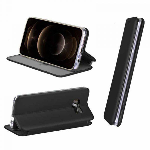 funda flip cover iphone 12 pro max elegance negro 2