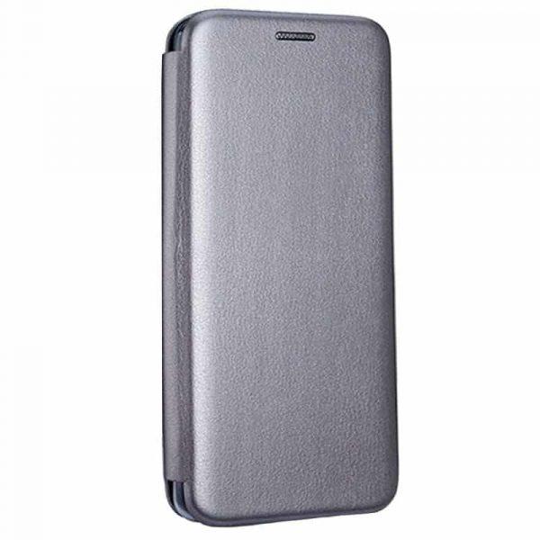 funda flip cover iphone 12 pro max elegance plata 3