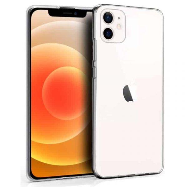 funda silicona iphone 12 mini transparente 1