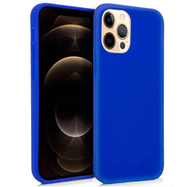funda silicona iphone 12 pro max azul 1