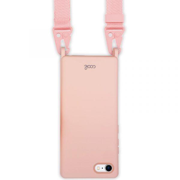 carcasa iphone 7 8 se 2020 cinta rosa 2