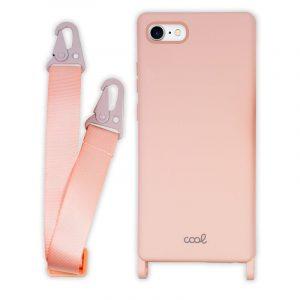carcasa iphone 7 8 se 2020 cinta rosa 4