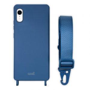 carcasa iphone xr cinta azul 1